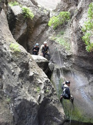 Canyoning à Los Carrizales Tenerife